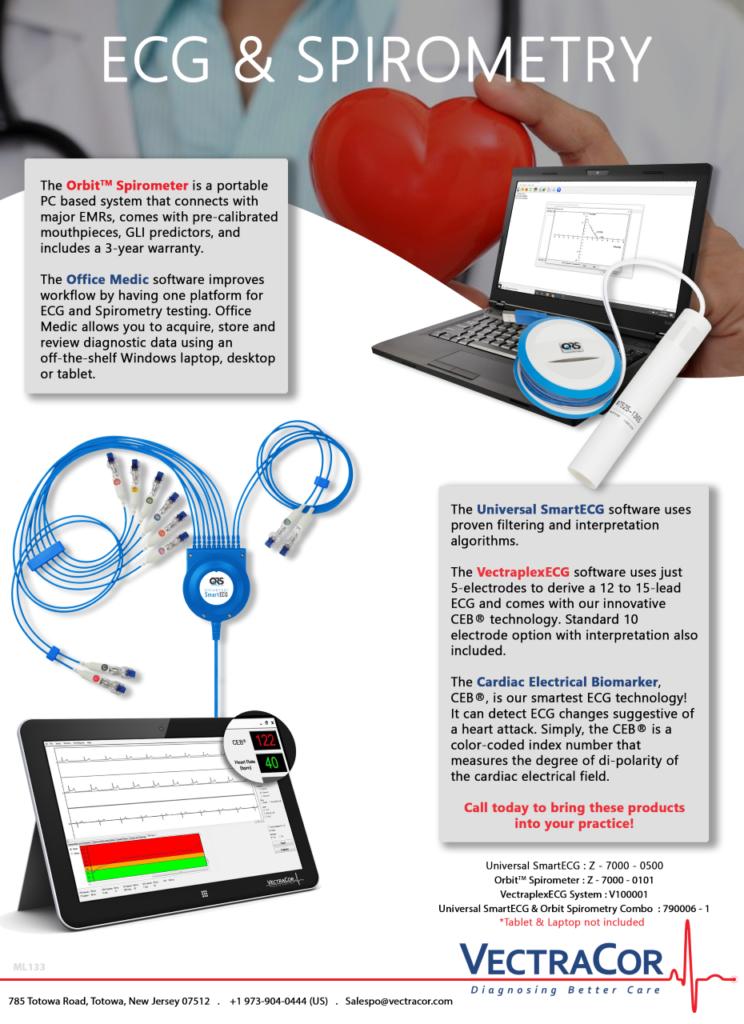 Orbit Spirometer ECG ComboQRS